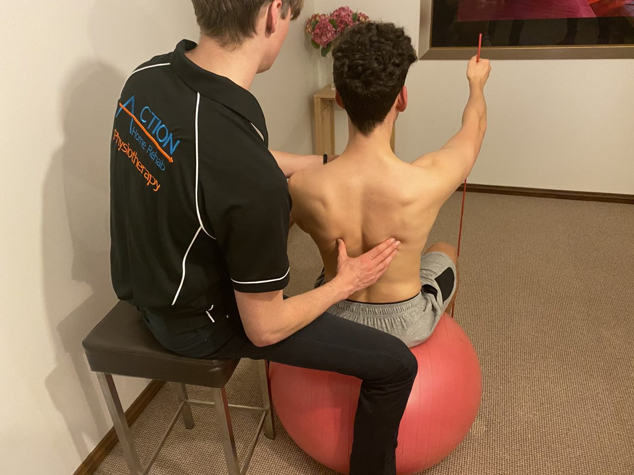 Action Home Rehab home physiotherapy